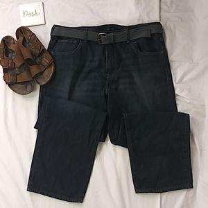 Like new Calvin Klein dark wash jeans size 40×30